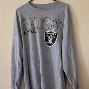 Oakland Raiders long sleeve shirt